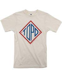 Topo Diamond T-shirt U - Natural