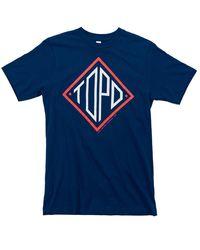 Topo Diamond T-shirt U - Blue