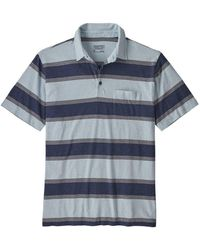 Patagonia Squeaky Clean Polo - Blue