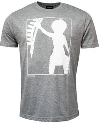 Make Make No Toys Here T-shirt - Grey