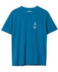 La Paz Dantas Logo T-shirt - Blue