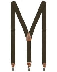 Fjallraven Singi Clip Suspenders - Green