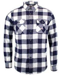 Holubar Flannel L/s Shirt - Blue