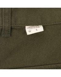 Uniform Bridge Cotton Fatigue Pants - Green