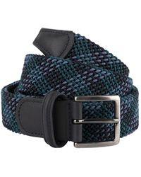 Anderson's B0667 Woven Textile Belt - Blue