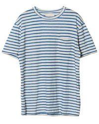 La Paz Guerreiro Pocket T-shirt - Blue