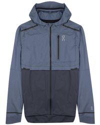 On Running Weather Jacket - Blue