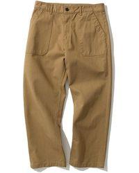 Uniform Bridge Cotton Fatigue Pants - Brown