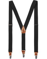 Fjallraven Singi Clip Suspenders - Grey