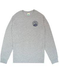 Hikerdelic Core Logo L/s T-shirt - Grey