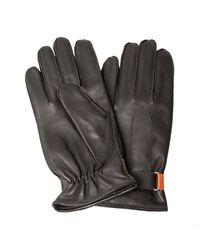 Paul Smith Mens Glove Strap Entry Chocolate - Black