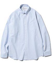 Uniform Bridge Oxford Bd Shirt - Blue