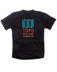 Topo Original Logo T-shirt - Black