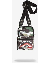 Sprayground Camo Money Sling Bag - Multicolor