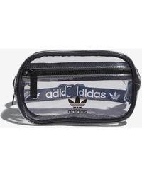 adidas Clear Waist Pack - Black