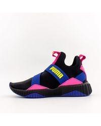 puma rubber defy mid x selena gomez casual training shoes