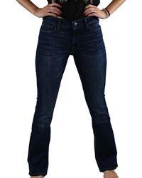 Warp & Weft Pdx - Bootcut Jeans - Blue
