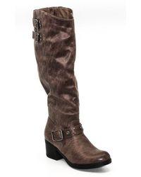 Carlos By Carlos Santana Cara Tall Boots - Brown