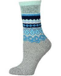 Free People Snowboard Slipper Socks - Grey
