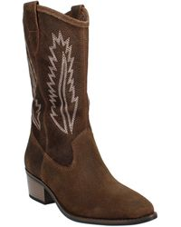 White Mountain Caraway Cowgirl Boot - Brown