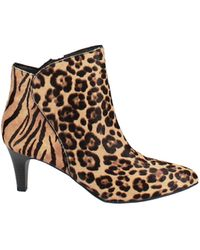 Alfani Harpper Kitten-heel Booties - Brown