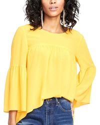 RACHEL Rachel Roy May High-low Top - Yellow