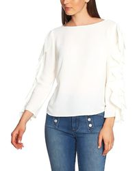 1.STATE - Ruffle-sleeve Top - Lyst