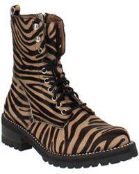 Aqua Jax Studded Hiker Boots - Black