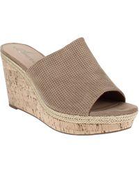 American Rag Shira Platform Wedge Sandals - Brown