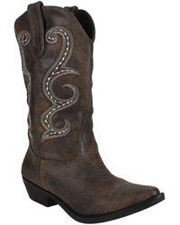 American Rag Dawn Cowgirl Western Boots - Brown