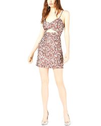 LEYDEN Cutout Printed Cami Sheath Dress - Multicolor