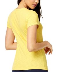 Maison Jules Embellished Dragonfly T-shirt - Yellow