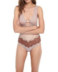 Intimately By Free People Not Yours Bodysuit - Multicolor