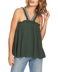 1.STATE - Jungle Boogie High Neck Blouse - Lyst