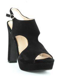 Jessica Simpson Barrow Platform Heels - Black