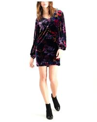 Trina Turk Floral-print Sheath Dress - Black