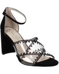 Jessica Simpson Nikaye Block Heel Sandals - Black