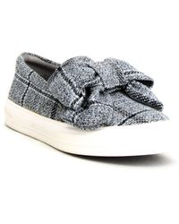 Nine West Onosha Slip-on Trainers - Grey