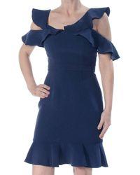 Rachel Zoe - Delia Ruffled Cold-shoulder Dress - Lyst