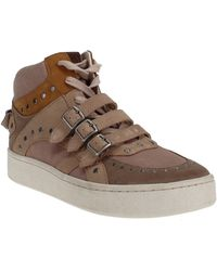 COACH C219 High Top Sneaker - Brown