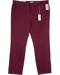 Warp & Weft Oak - Weekday Straight Jeans - Red