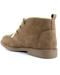 Seven Dials Mallori Lace-up Booties - Brown