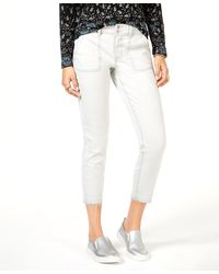 Style & Co. Skinny Leg Mid Rise Jeans - White