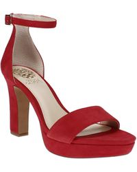 Vince Camuto Sathina Sandals - Red