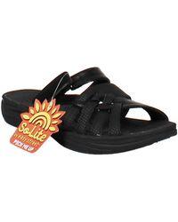 Easy Street Solite Delia Comfort Sandals - Black