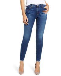 AG Jeans Ankle Leggings - Blue