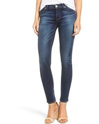 Hudson Jeans Nico Midrise Super Skinny - Blue