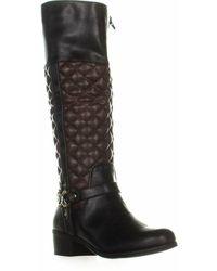 Charter Club Helenn Knee High Boots - Black