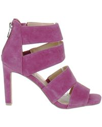 Jessica Simpson Cerina Strappy Stiletto Heel Sandals - Purple