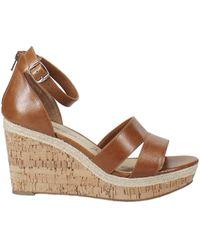 American Rag Tarrah Wedge Sandals - Brown